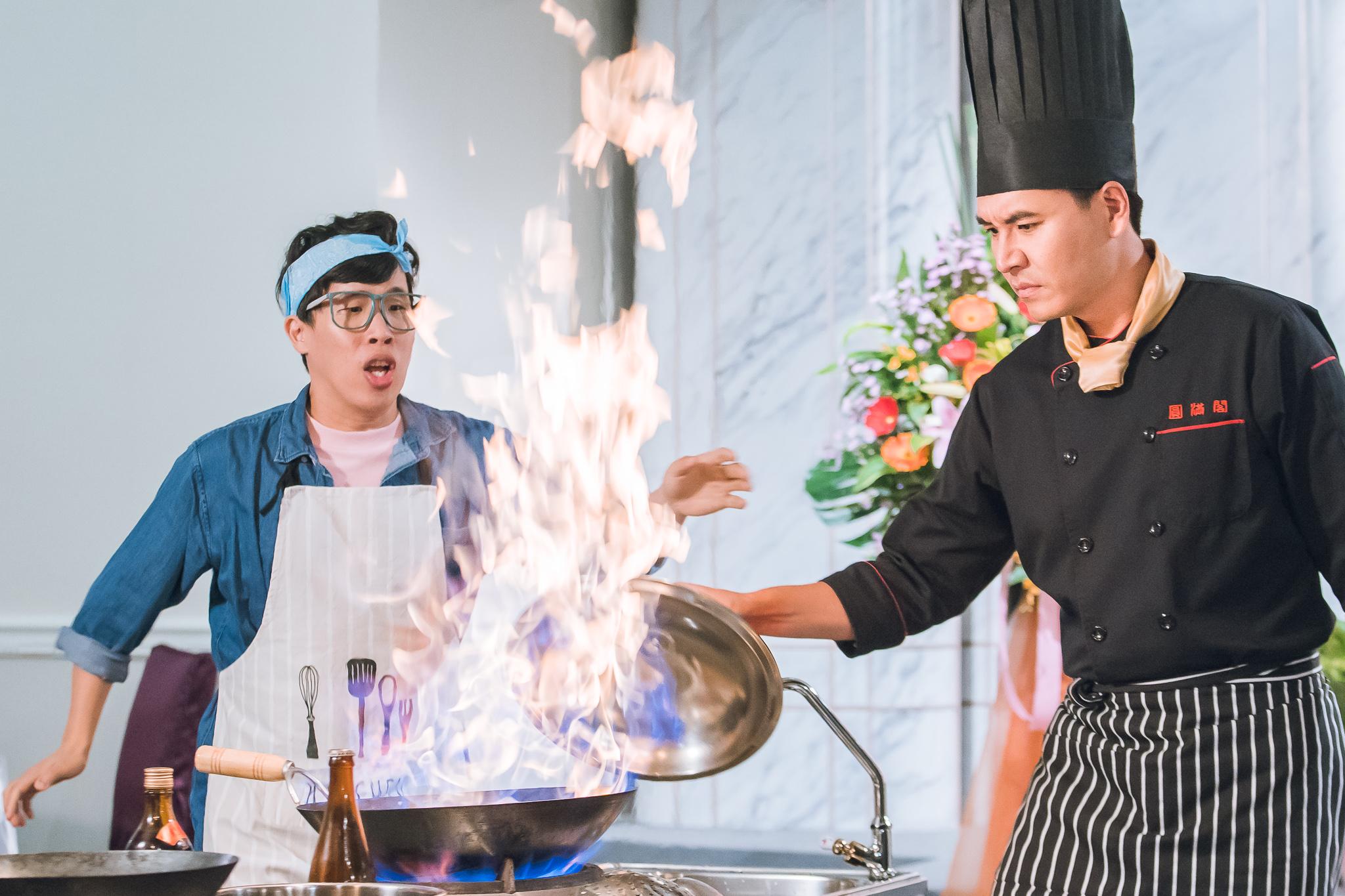 《美味滿閣》  王傳一首度挑戰廚師角色  炒鍋起火象徵收視旺旺旺!